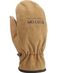 Burton - Work Horse Leather Mitten - Lyst