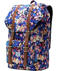 8ed8ed01432 Lyst - Herschel Supply Co. Little America Aspect Backpack in Blue ...