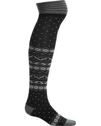 Icebreaker - Lifestyle Fine Gauge Ultra Light Over The Knee Sock - Lyst