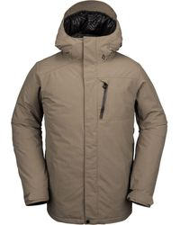 Volcom L Insulated Gore-tex Hooded Jacket - Multicolor