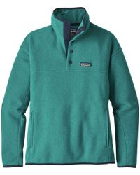 Patagonia | Lightweight Better Sweater Marsupial Pullover Jacket | Lyst