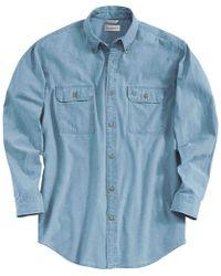 Carhartt - Fort Solid Long-sleeve Shirt - Lyst