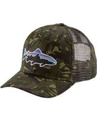 Patagonia - Fitz Roy Trout Trucker Hat - Lyst