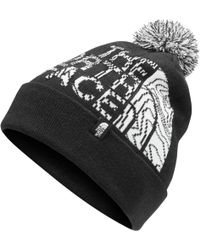 57063ced44778 Lyst - The North Face  wicked  Beanie in Black for Men