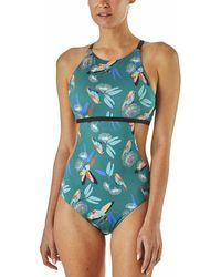 f7484222c9 Patagonia Kupala Reversible One-piece Swimsuit - Lyst