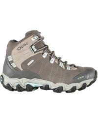 Obōz - Bridger Mid Bdry Hiking Boot - Lyst