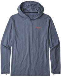 Patagonia - R0 Sun Long-sleeve Hooded Shirt - Lyst