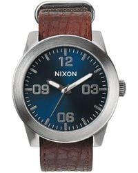 Nixon - Corporal Watch - Lyst