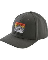 Lyst - Patagonia 73 Logo Roger That Hat in Black for Men 0c45bad9a92b