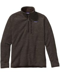 Patagonia - Better Sweater 1/4-zip - Lyst