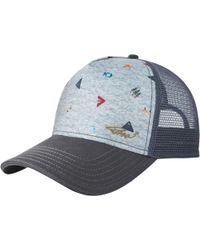 e88a0b0a3d7 Lyst - Prana La Viva Trucker Hat in Purple