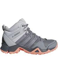 lyst adidas originali terrex ax2r metà gtx scarpone da montagna in grigio per gli uomini.