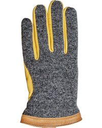 Hestra - Deerskin Wool Tricot Glove - Lyst