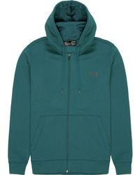 Under Armour - Rival Cotton Full-zip Hoodie - Lyst