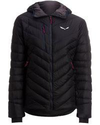 Salewa - Ortles Medium Hooded Down Jacket - Lyst