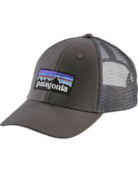 Lyst - Patagonia P6 Lopro Trucker Hat in Gray for Men fd4ce509ed58