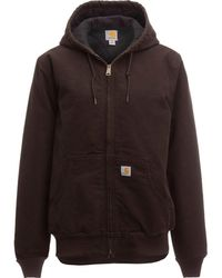 Carhartt - Sandstone Active Hooded Jacket - Lyst