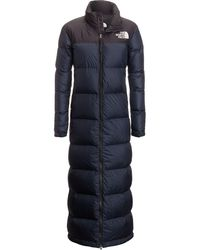 The North Face - Nuptse Duster Down Jacket - Lyst