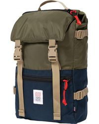 0546cc7a7 Topo Designs Topo Design Rover Pack Olive Backpack in Green for Men - Lyst