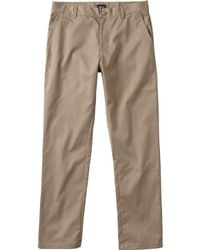 RVCA - Weekend Stretch Pant - Lyst