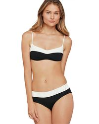 37a46fcc1a Old Navy Underwire Swim Top in Black - Lyst