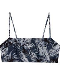 Mikoh Swimwear - Kumu Bikini Top - Lyst