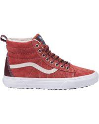 Vans - Sk8-hi Mte Hot Sauce Womens Shoes - Lyst
