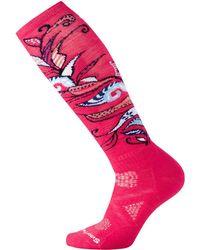 Smartwool - Phd Ski Medium Pattern Sock - Lyst