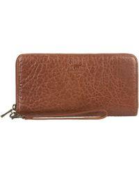 Will Leather Goods - Imogene Checkbook Clutch - Lyst