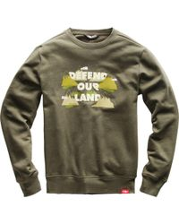 The North Face - Defend Bottle Source Crew Sweatshirt - Lyst