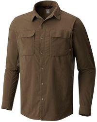 Mountain Hardwear - Canyon Pro Long-sleeve Shirt - Lyst
