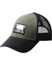Lyst - The North Face Patches Trucker Hat (vintage White crystal ... 488b451d12d8