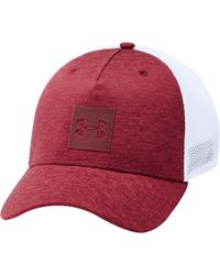 new arrival 28e60 47563 Under Armour Armour Twist 2.0 Cap in Green for Men - Save 50% - Lyst
