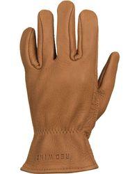 Red Wing - Unlined Buckskin Glove - Lyst