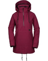 Volcom - Fern Insulated Gore Pullover Jacket - Lyst