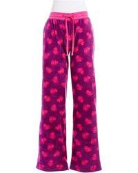 Steve Madden - Microfleece Patterned Pyjama Trousers - Lyst
