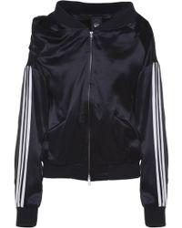 635b3aa4f9746 Y-3 Oversized Nylon Down Jacket in Black - Lyst