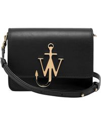 JW Anderson - Mini Logo Purse Leather Cross-body Bag - Lyst