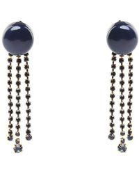 Marni - Crystal-embellished Resin Earrings - Lyst