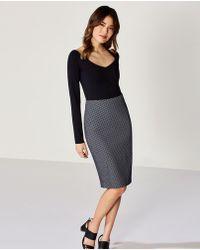 Bailey 44 - Skiff Woven Dot Skirt - Lyst