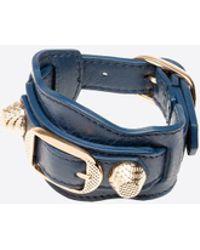 Balenciaga - Giant Gold Bracelet - Lyst