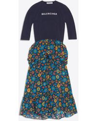 Balenciaga - Athletic Top Dress - Lyst