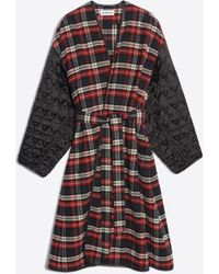 Balenciaga - New Cocoon Quilted Lining Coat - Lyst