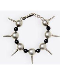 Balenciaga - Metal Pearl Bracelet - Lyst