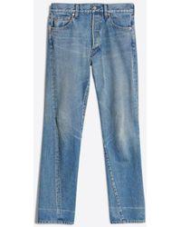 Balenciaga - New Twisted Leg Jeans - Lyst