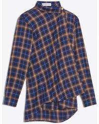 Balenciaga - Pulled Shirt - Lyst