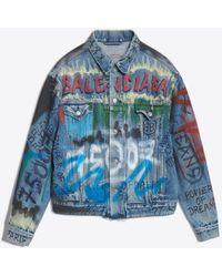 Balenciaga - Like A Man Logo Jacket - Lyst