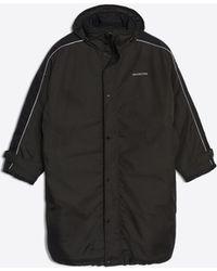 Balenciaga - Padded Raincoat - Lyst