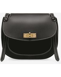 Bally - B Turn Saddle Bag Medium - Lyst