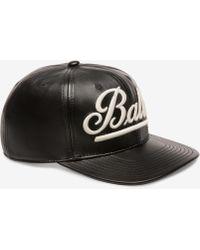 Bally - Logo Baseball Cap - Lyst